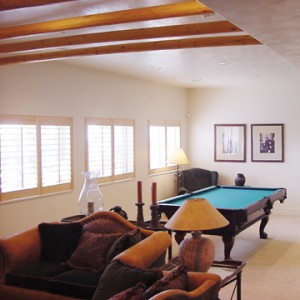 Beautiful basement lighting the natural way with egress windows.