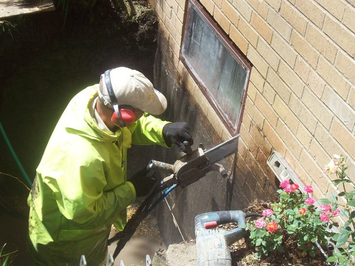 & Installing a Basement Window for Egress: Cutting the Opening