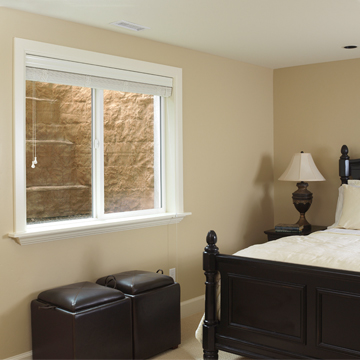 Fiberglass Window Wells A Great Solution For A Tight Space