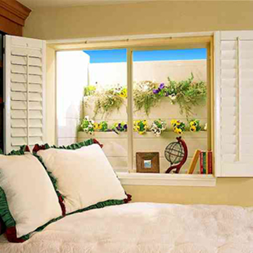 window boxes on an egress well brighten up your basement