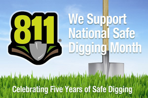 National Safe Digging Month