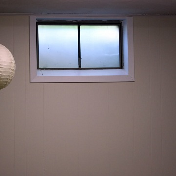 Non Egress Basement Window
