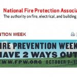 NFPA Fire Prevention Week