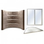Complete Egress Window System - Stonewell Tan