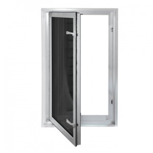 To meet Egress Code, use an In-Swing Window instead of a casement window.