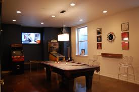 Basement dining room