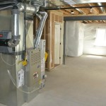Furnace-in-a-basement
